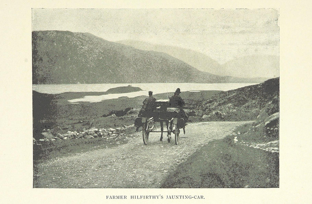 irish idylls - jaunting car