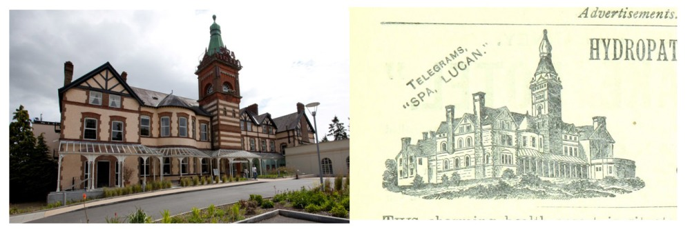 lucan spa hotel then and now