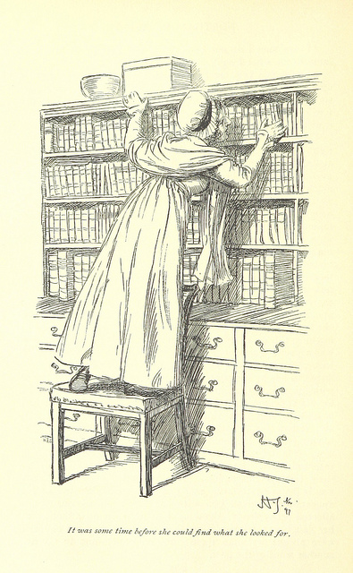 northanger persuasion - find what she looked for