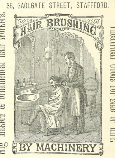 Hairdressing by machinery