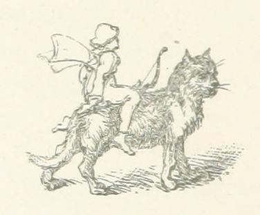 love-lore - cat riding fairy