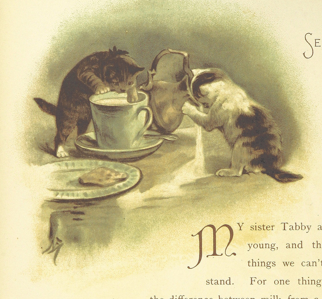 our friends and all about them - my sister tabby - e nesbit