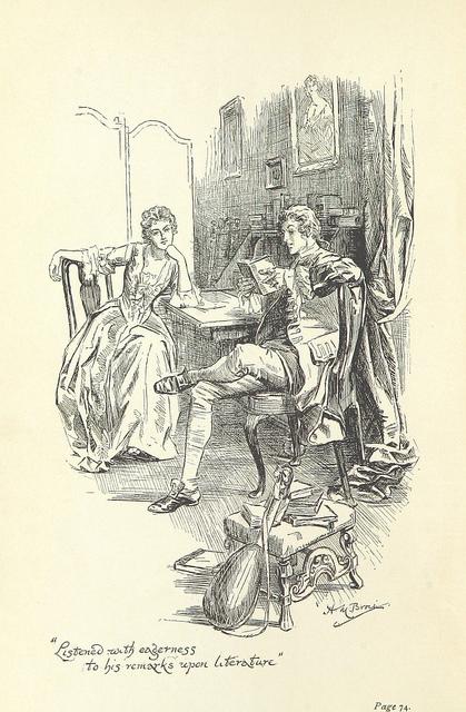 Waverley - Rose Bradwardine humours Edward