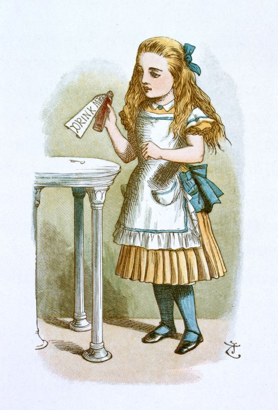 carroll lewis nursery 066110 The Nursery Alice 1890 british library