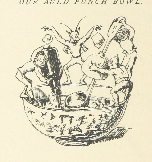 mistura curiosa - punch bowl