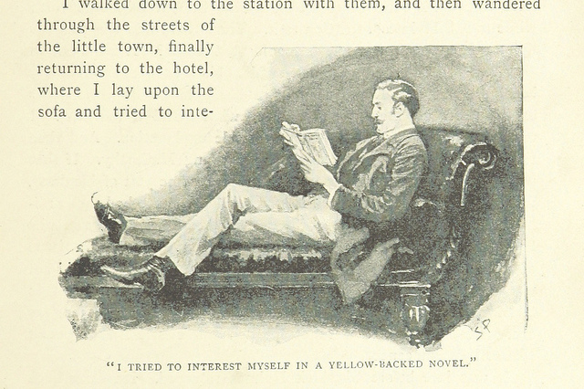 the adventures of sherlock holmes - yellow-backed novel