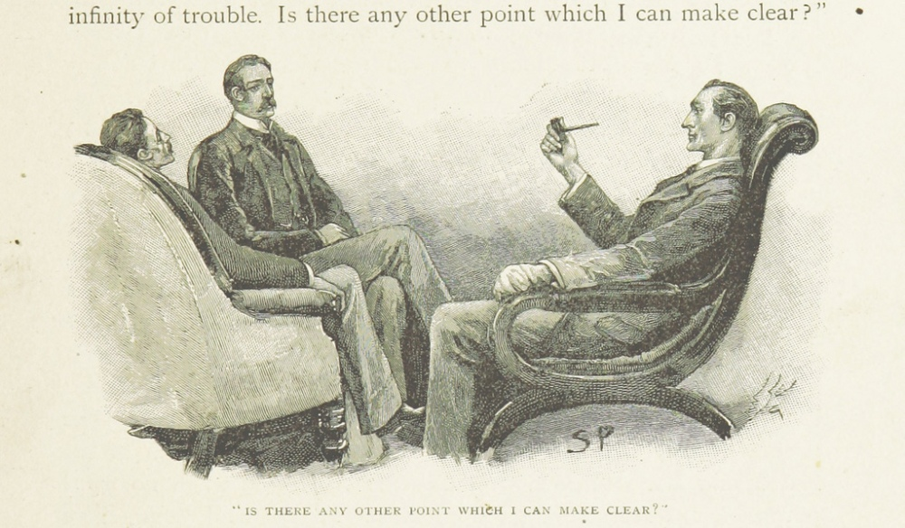 Image taken from page 269 of 'The Memoirs of Sherlock Holmes' 1884