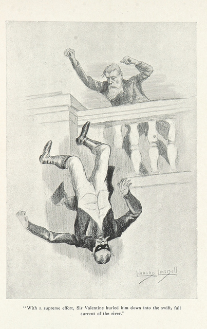 lord edward fitzgerald - falling off balcony