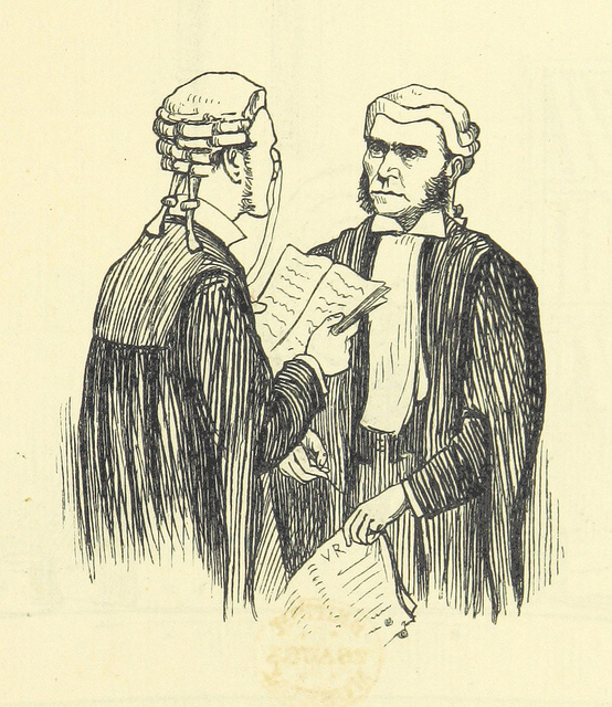 ballads of the bench - two lawyers talking