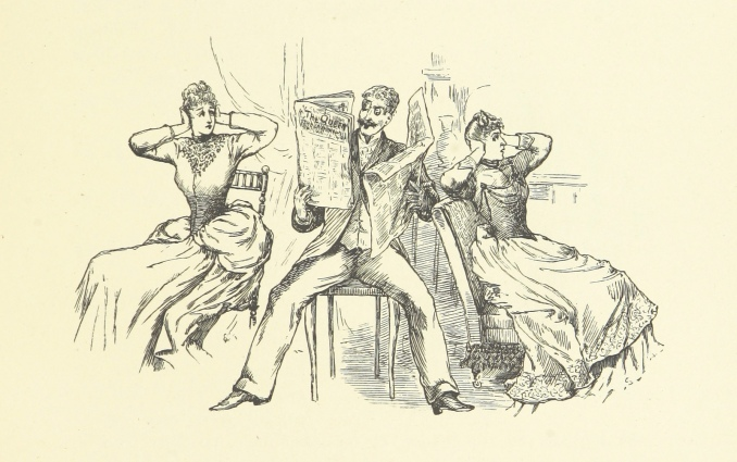 Image taken from page 51 of 'Drawing-Room Plays. Selected and adapted from the French by Lady Adelaide Cadogan. Illustrated by E. L. Shute, etc'