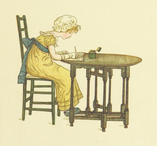 Image taken from page 31 of 'Little Ann, and other poems. ... Illustrated by Kate Greenaway, etc'