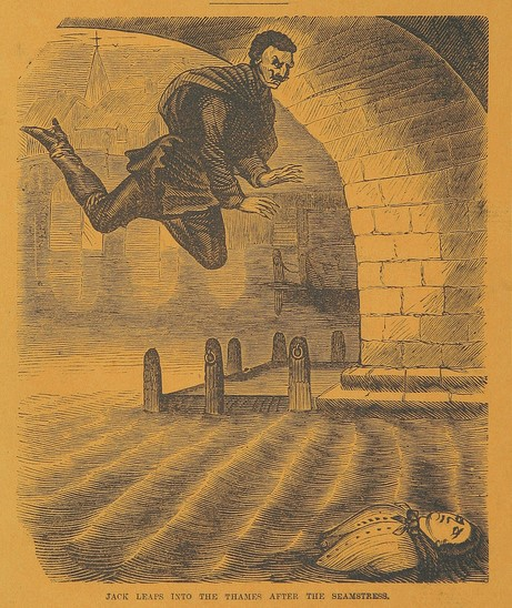 """Image from British library - page 117 of """"Spring-heel'd Jack: The Terror of London (1867)"""