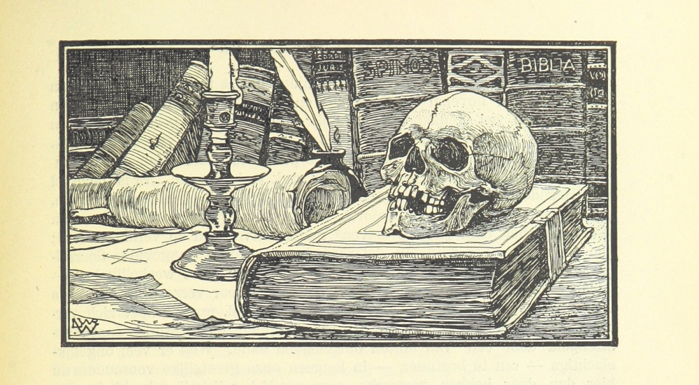eene halve eeuw - skull and books.jpg