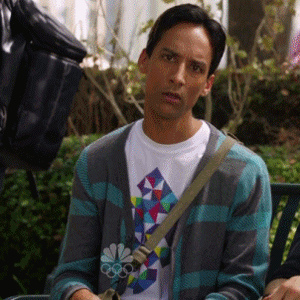 abed is confused