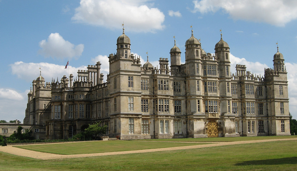 Image of Burghley House used in the 2005 film adaptation of Pride and Prejudice