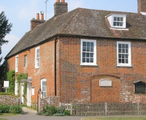 Image of Chawton House in Hampshire, where Jane Austen lived for a period of time.