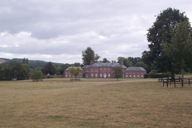 Image of Godmersham Park, a Grade 1 listed house in Kent, UK.